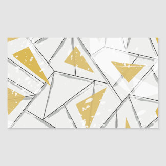 Abstract: Early Fall Rectangular Sticker