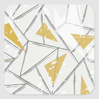 Abstract: Early Fall Square Sticker