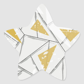 Abstract: Early Fall Star Sticker