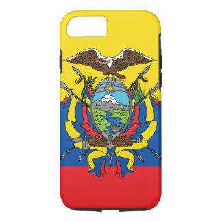 Abstract Ecuador Flag, Republic of Ecuador Colors iPhone 8/7 Case