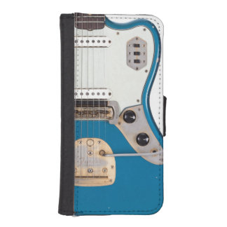 Abstract Electric Air Guitar Hero Musician Band iPhone SE/5/5s Wallet Case