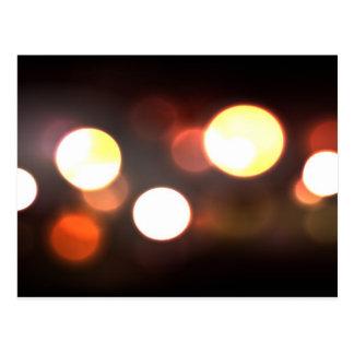 Abstract Elegant Bokeh Blur Postcard