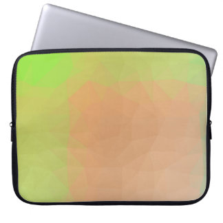 Abstract & Elegant Geo Designs - Forest Calm Laptop Sleeve