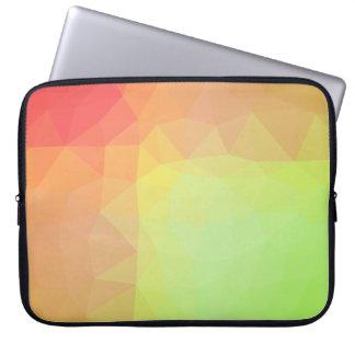 Abstract & Elegant Geo Designs - Hillside Blossom Laptop Sleeve