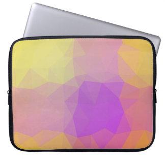 Abstract & Elegant Geo Designs - Meteor Shower Laptop Sleeve