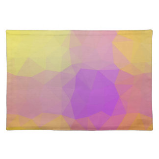Abstract & Elegant Geo Designs - Meteor Shower Placemat