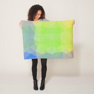 Abstract & Elegant Geo Designs - Ocean to Land Fleece Blanket