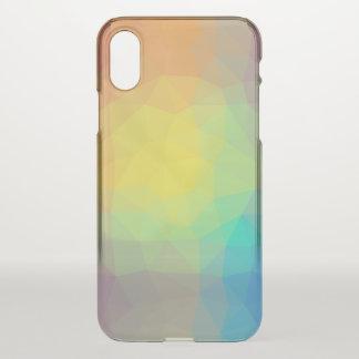 Abstract & Elegant Geo Designs - Seashell Vision iPhone X Case