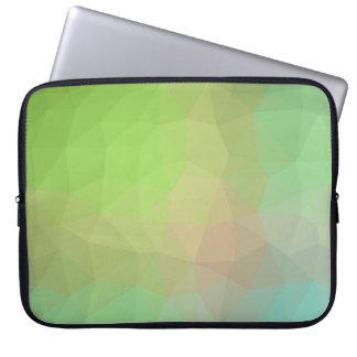 Abstract & Elegant Geo Designs - Watermelon Hue Laptop Sleeve