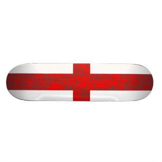 Abstract England Flag 18.1 Cm Old School Skateboard Deck