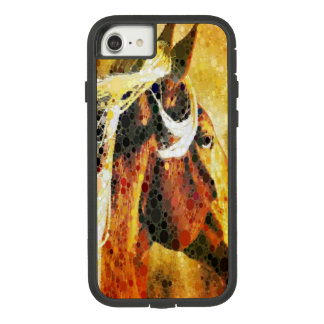 Abstract equestrian western country horse Case-Mate tough extreme iPhone 8/7 case
