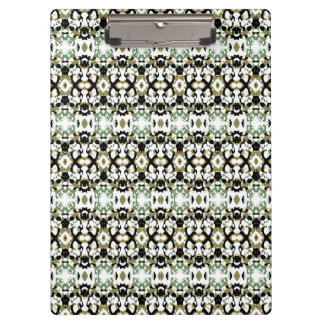 Abstract Ethnic Camouflage Clipboards