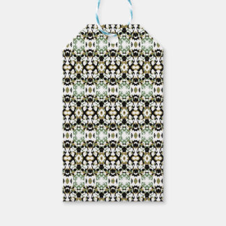 Abstract Ethnic Camouflage Gift Tags