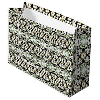 Abstract Ethnic Camouflage Large Gift Bag