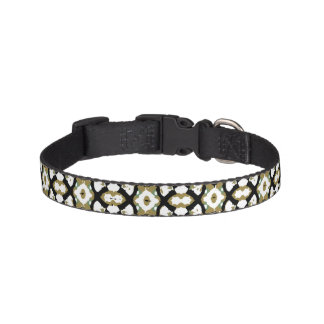 Abstract Ethnic Camouflage Pet Collar