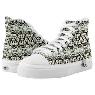 Abstract Ethnic Camouflage Printed Shoes