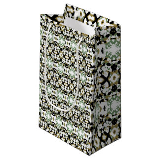 Abstract Ethnic Camouflage Small Gift Bag