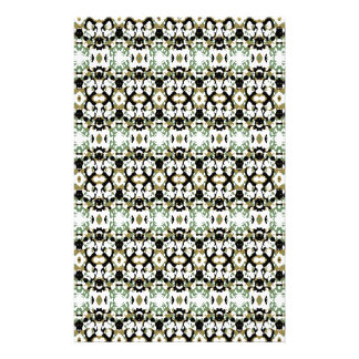 Abstract Ethnic Camouflage Stationery