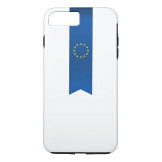 Abstract European Flag, Europe Ribbon iPhone 8 Plus/7 Plus Case