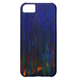 """Abstract Evergreens"" Blue iPhone5 Case Cover For iPhone 5C"