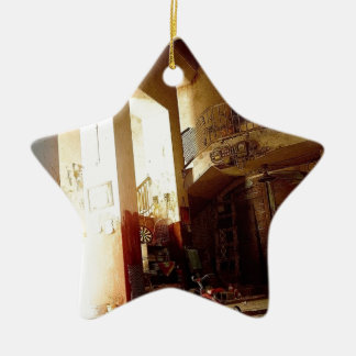 Abstract Everyday After The Party Ceramic Star Decoration