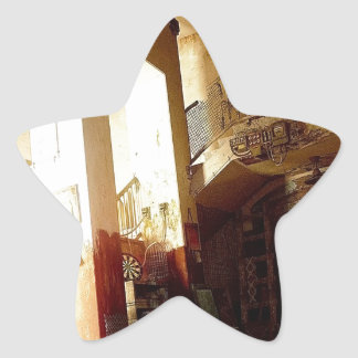 Abstract Everyday After The Party Star Sticker