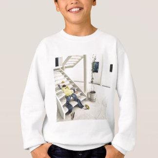 Abstract Everyday Climb Stairs Sweatshirt