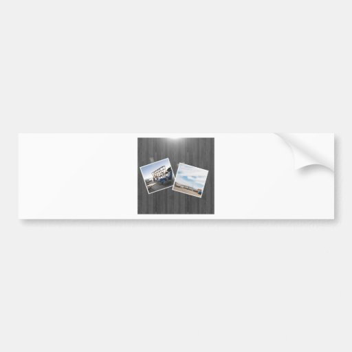 Abstract Everyday Picture This Bumper Stickers