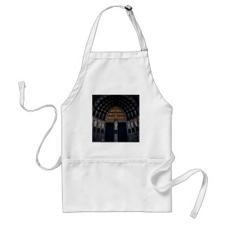 Abstract Everyday Plenty Of Statue Adult Apron