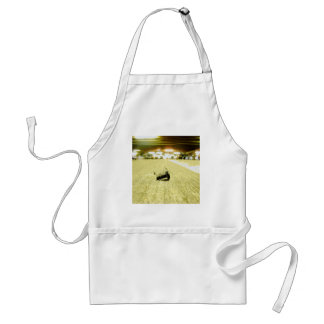 Abstract Everyday Steel Bolt Adult Apron