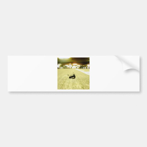 Abstract Everyday Steel Bolt Bumper Stickers