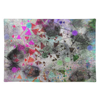 Abstract Explosion Placemat