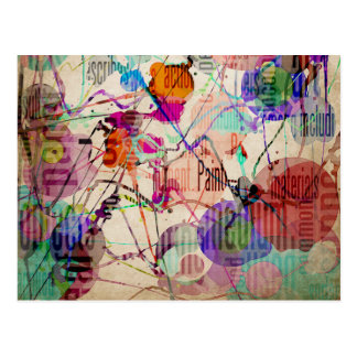 Abstract Expressionism 1 Postcard