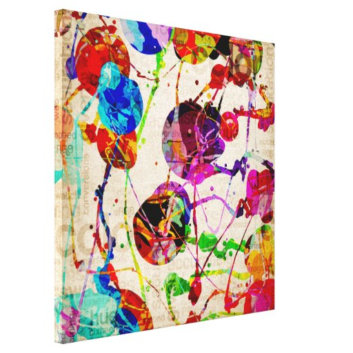 Abstract Expressionism 2 Stretched Canvas Print