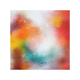 Abstract Expressionism Canvas Print