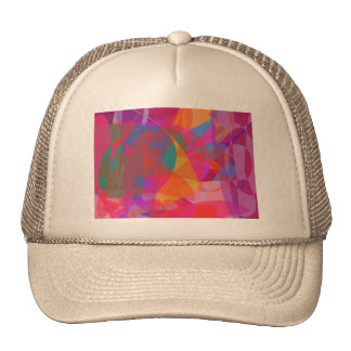 Abstract Expressionism Trucker Hats