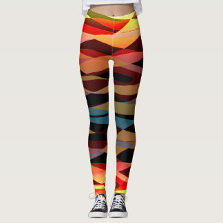 Abstract Expressionism Leggings
