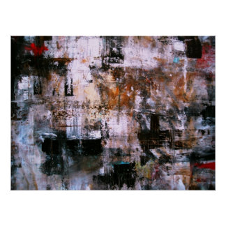 ABSTRACT EXPRESSIONISM MODERN ART PAINTING PRINT