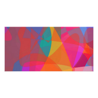 Abstract Expressionism Photo Card