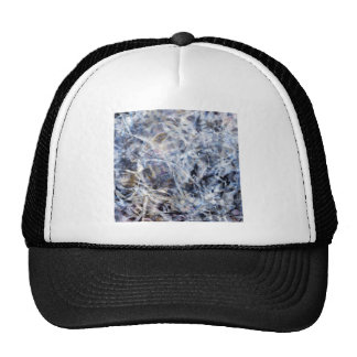 Abstract Expressionist Dance 3 Square Cap