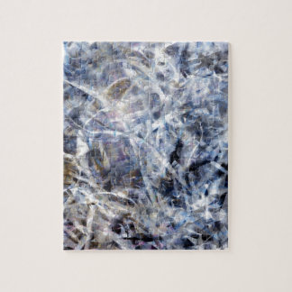Abstract Expressionist Dance 3 Square Jigsaw Puzzle