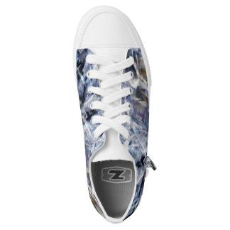 Abstract Expressionist Dance Low Tops