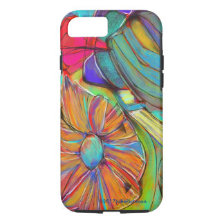 Abstract EXPRESSIONIST Flower iPhone 7 Case