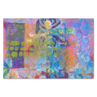 Abstract Fabric Print Tissue Paper