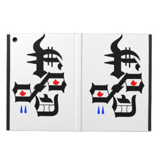 Abstract face iPad air covers