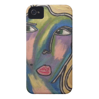 Abstract Face Phone Case iPhone 4 Case