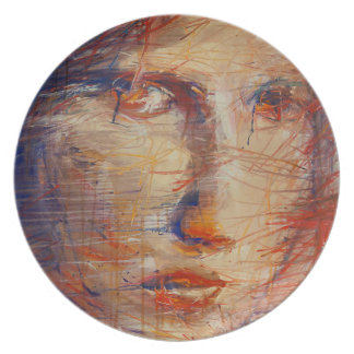 Abstract Face Plate
