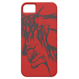 Abstract Facial Design (Case) iPhone 5 Cover