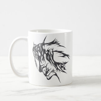 Abstract Facial Design (Mug) Coffee Mug