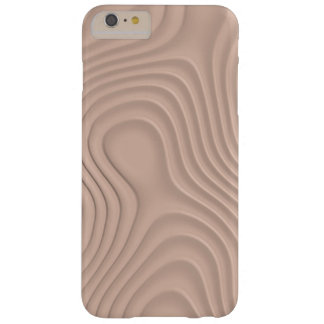 abstract fancy wood texture or pattern barely there iPhone 6 plus case